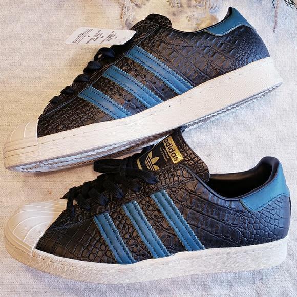 new style f8f52 7e2e7 Adidas Original Men s Superstar 80 s Running Shoe